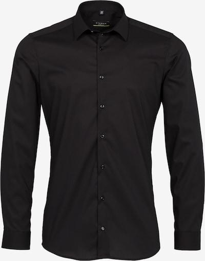 ETERNA Langarm Hemd SUPER-SLIM in schwarz, Produktansicht