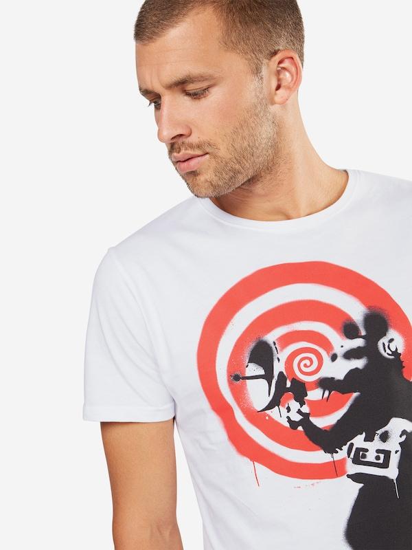 Rat' Schwarz Rot Spy Merchcode Wei 'banksy Shirt SXxaqaw7Wt