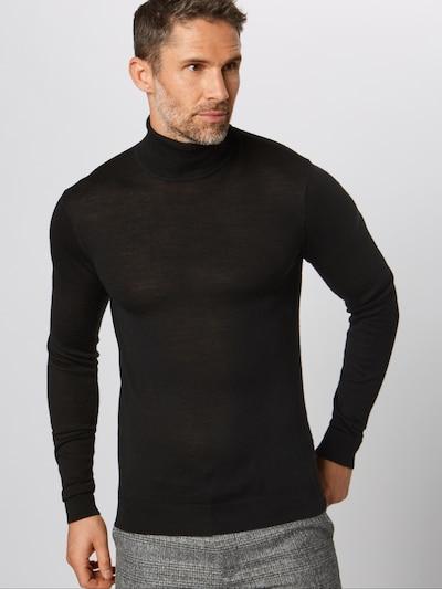 Casual Friday Jersey en negro, Vista del producto