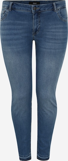 Zizzi Jeans 'EMILY' in blue denim, Produktansicht
