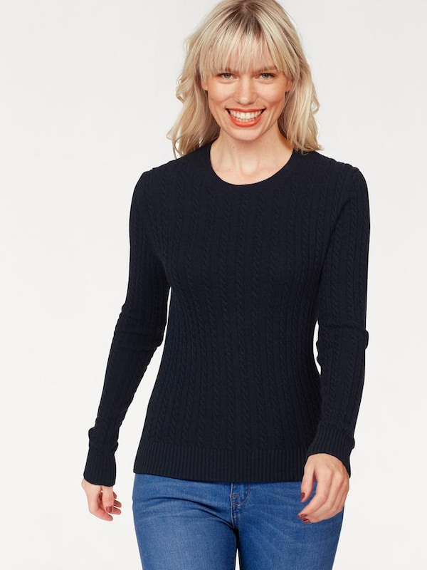 Superdry Superdry Rundhalspullover LUXE MINI CABLE KNIT
