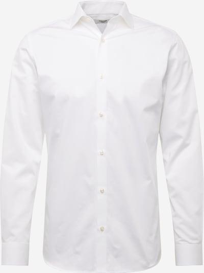 JACK & JONES Hemd 'JPRBLA BASIC LS SHIRT 2 PACK KA' in weiß, Produktansicht
