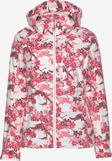 ICEPEAK Jacke 'Barby' in rosa / rot / weinrot / weiß, Produktansicht