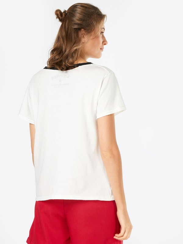 REPLAY T-Shirt mit Cut-Outs