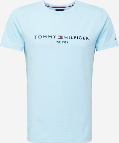 TOMMY HILFIGER Shirt in navy / hellblau, Produktansicht