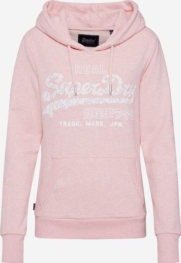 Superdry Sweat-shirt en rose, Vue avec produit