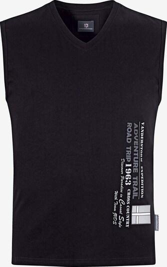 Jan Vanderstorm Muskelshirt 'Laci ' in schwarz, Produktansicht