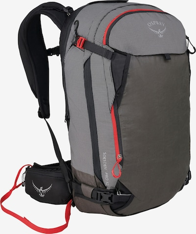 Osprey Alpinrucksack 'Soelden Pro Avy 32' in grau / orange, Produktansicht