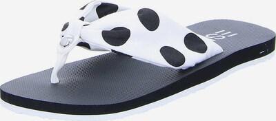 ESPRIT Zehentrenner in schwarz / weiß, Produktansicht