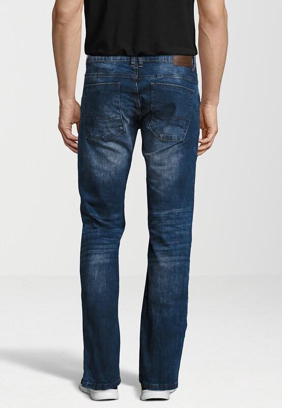 SHINE ORIGINAL Jeans mit hellen Effekten