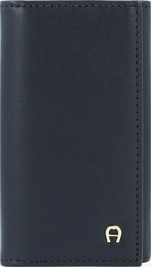 AIGNER Schlüsseletui 'Daily Basis' 6cm in schwarz: Frontalansicht