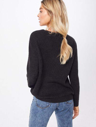 Megztinis iš OBJECT , spalva - juoda: Vaizdas iš galinės pusės