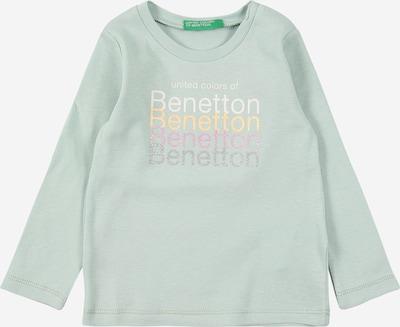 UNITED COLORS OF BENETTON Shirt in pastellgrün / mischfarben, Produktansicht