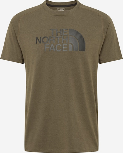 THE NORTH FACE Functioneel shirt 'WICKER' in de kleur Bruin gemêleerd / Zwart, Productweergave