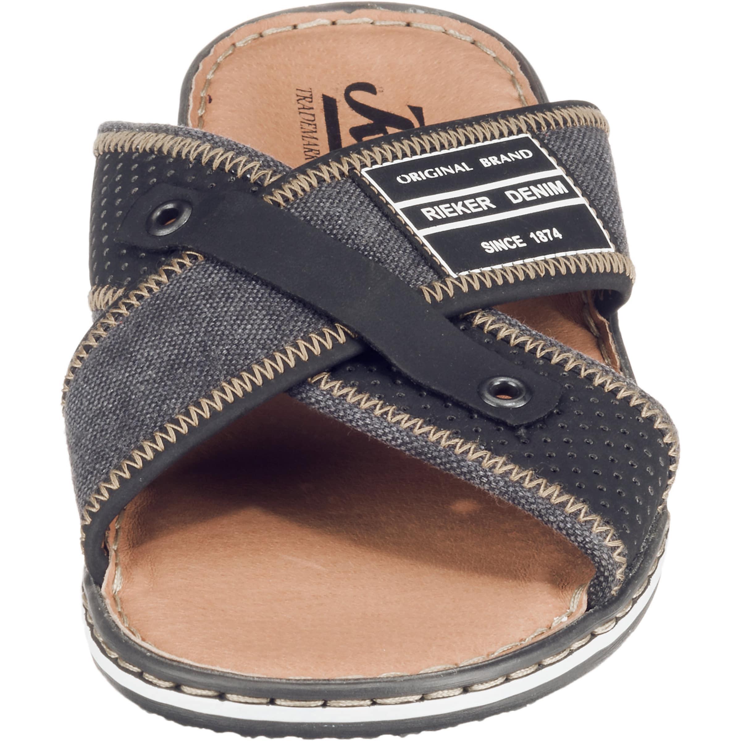 Sandalen In MischfarbenSchwarz Sandalen In Rieker In MischfarbenSchwarz Rieker Rieker Sandalen oCeWBQrdx