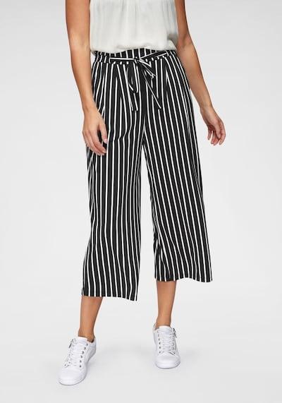Aniston CASUAL Culotte in schwarz / weiß, Modelansicht