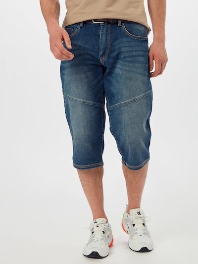 Džinsai iš s.Oliver , spalva - tamsiai (džinso) mėlyna, Modelio vaizdas
