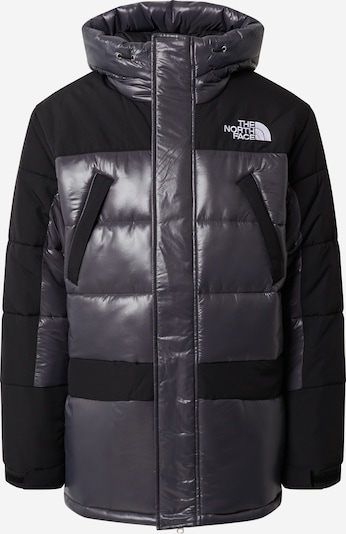 THE NORTH FACE Winterparka 'HIMALAYAN' in de kleur Zwart / Zilver, Productweergave