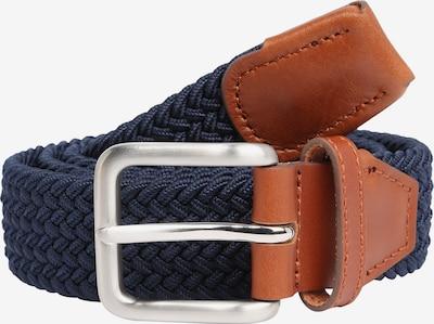JACK & JONES Opasek 'SPRING WOVEN BELT' - námořnická modř, Produkt