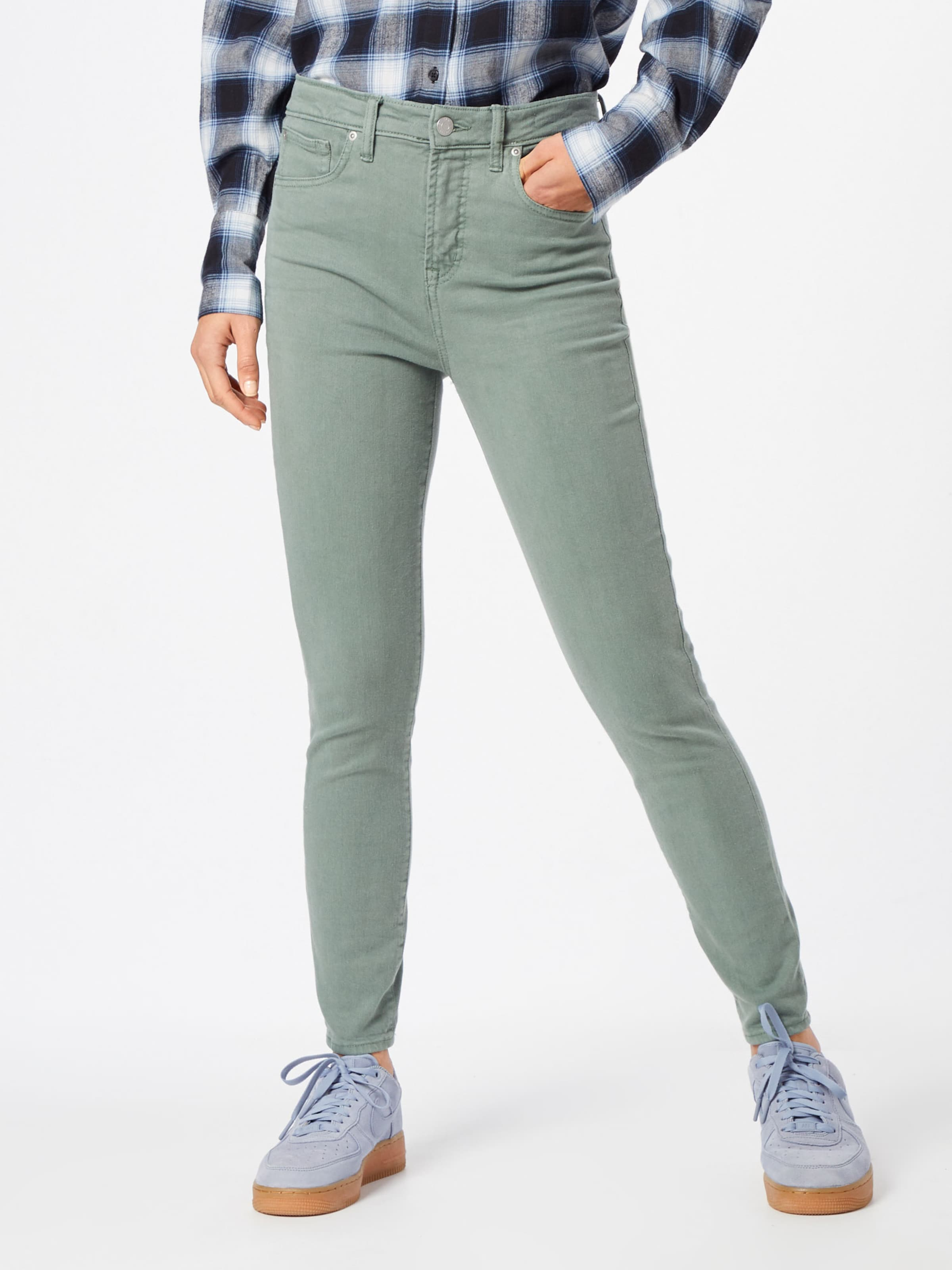 'tr Washed Gap In Hr Color' Hellgrün Skinny Ankle Jeans ZuPTOXwik