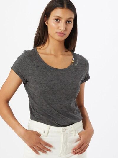 Ragwear T-Shirt 'Florah' in anthrazit: Frontalansicht