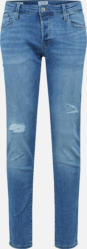 JACK & JONES Jeans 'GLENN' in blue denim, Produktansicht