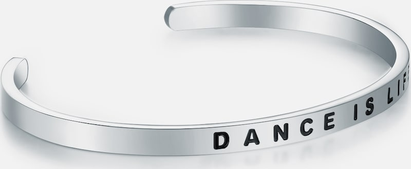 Nahla Jewels Bracelet Bangle With Dance Is Life-lettering