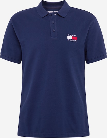 Tommy Jeans Shirt 'BADGE POLO' in de kleur Donkerblauw, Productweergave