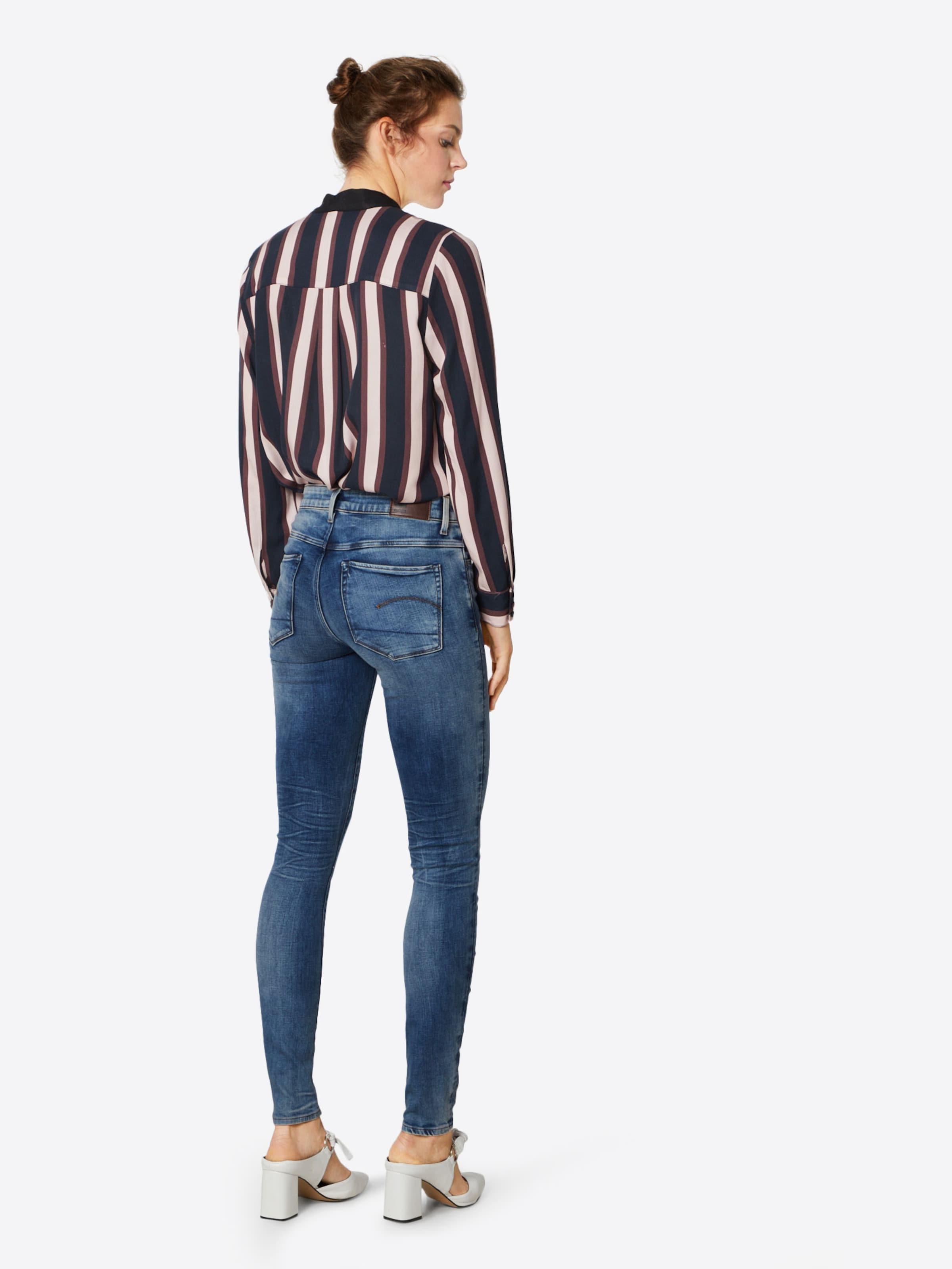 G star Jeans Deconst' Raw In Blau '3301 ZXTPkOiu