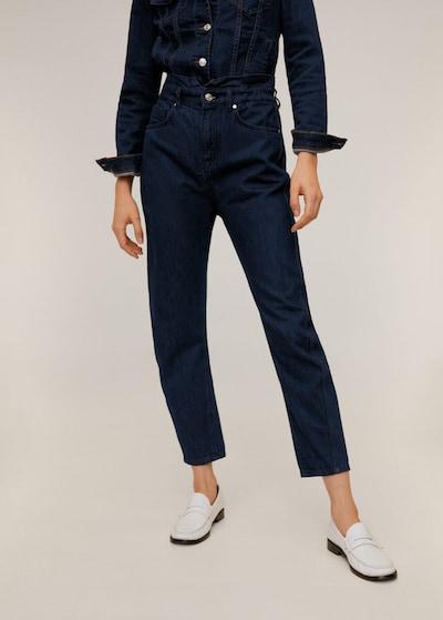 MANGO Jeans 'Slouchy' in dunkelblau, Modelansicht