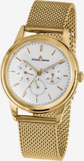 Jacques Lemans Jacques Lemans Multifunktionsuhr »Retro Classic, 1-2061J« in gold / weiß, Produktansicht