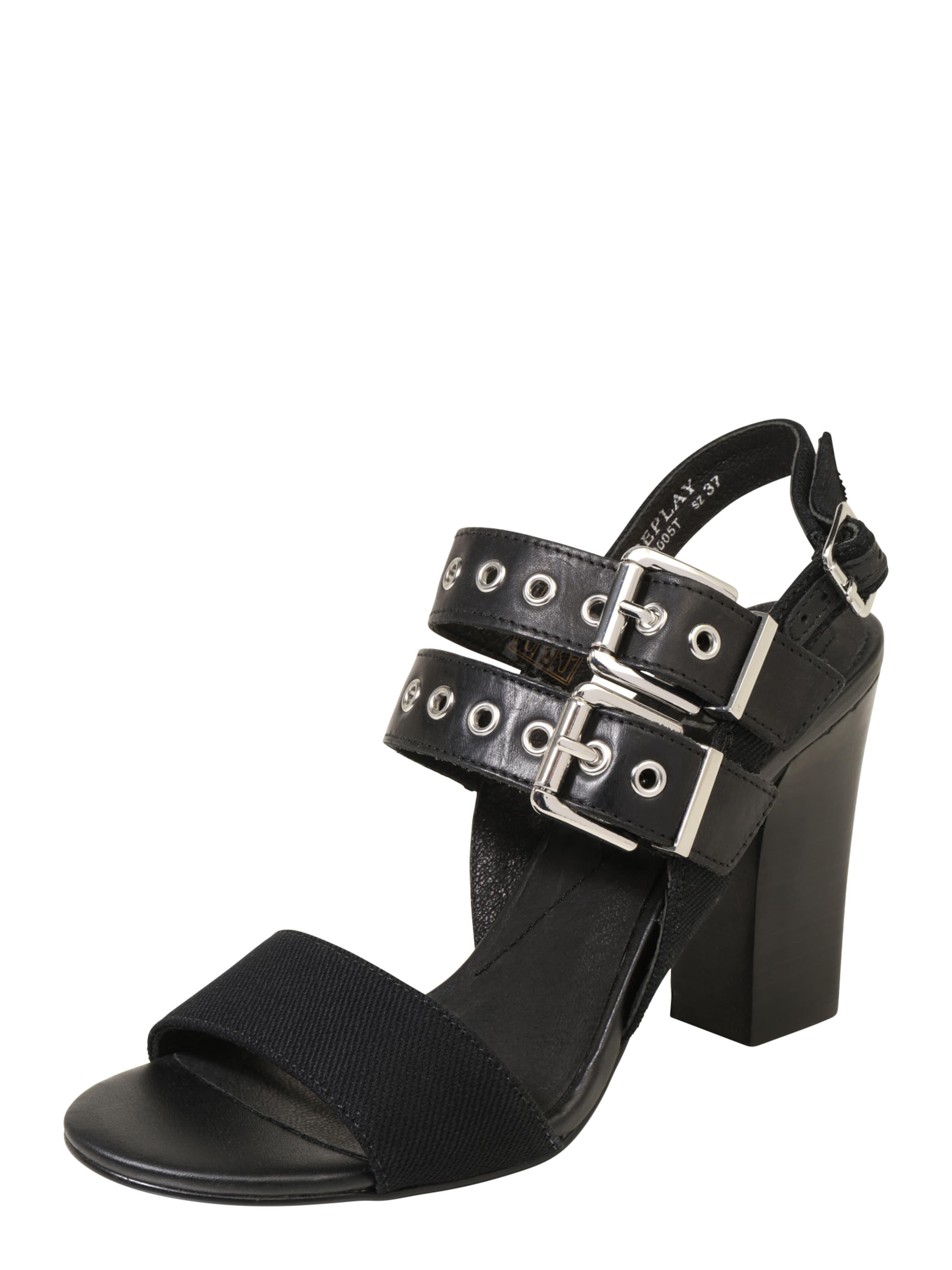Haltbare Mode getragene billige Schuhe REPLAY | Absatzsandale 'LUANA' Schuhe Gut getragene Mode Schuhe f935a1
