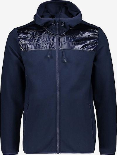 CMP Sweatjacke 'Double Hoodie' in nachtblau, Produktansicht