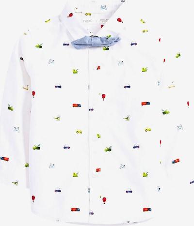 NEXT Langarmhemd mit Krawatte in weiß, Produktansicht