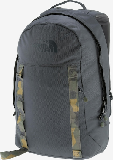 THE NORTH FACE Rucksack 'Lineage 20' in gelb / dunkelgrau / oliv, Produktansicht