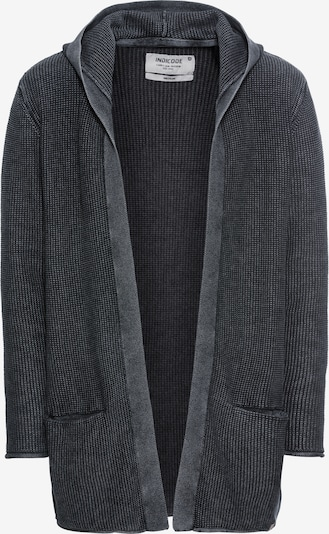 INDICODE JEANS Strickjacken 'Graham' in schwarz, Produktansicht