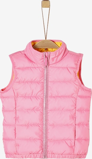 s.Oliver Weste in gelb / pink, Produktansicht