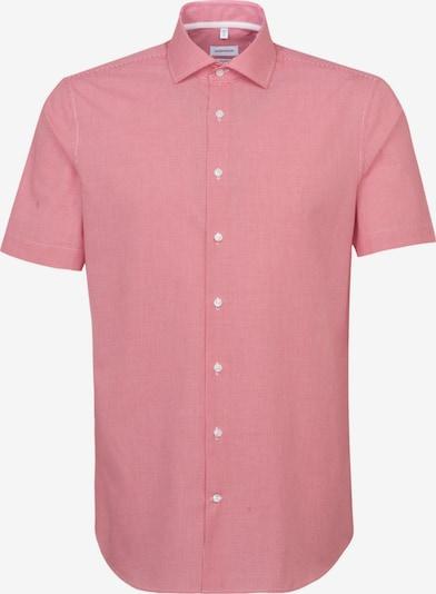 SEIDENSTICKER Business Hemd ' Shaped ' in rot / weiß, Produktansicht