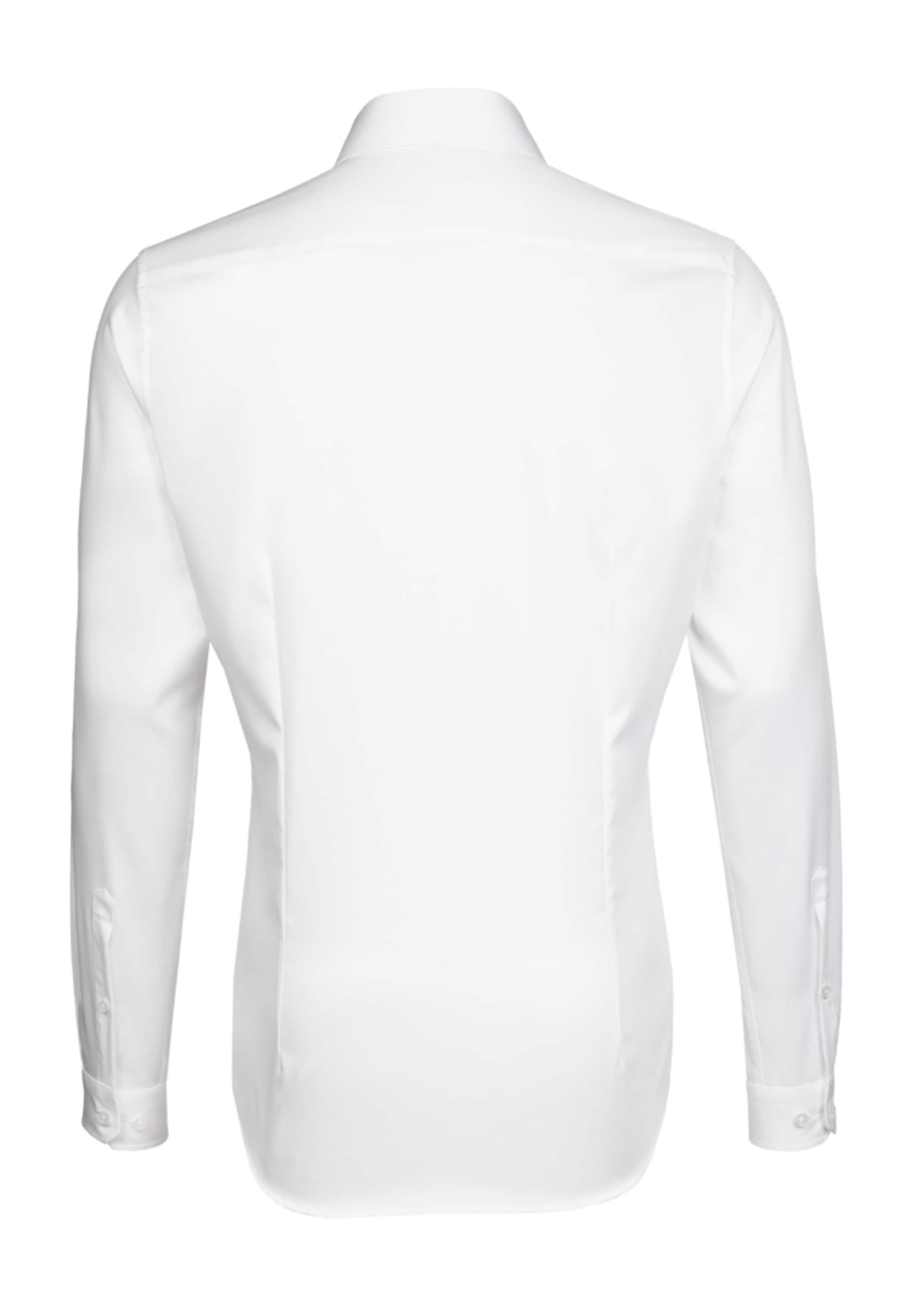 ' In hemd Seidensticker City Slim Weiß WH29IED