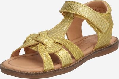 BISGAARD Schuhe 'Astrid' in gelb: Frontalansicht