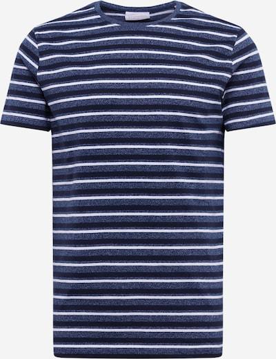 Lindbergh Koszulka w kolorze niebieski / ciemny niebieski / białym, Podgląd produktu