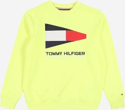 TOMMY HILFIGER Sweatshirt in neongelb, Produktansicht