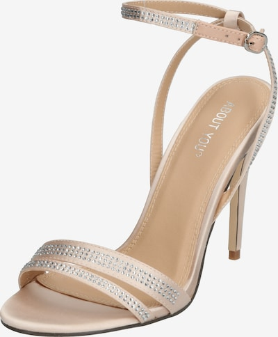 ABOUT YOU High Heels 'Evelyn' in nude, Produktansicht
