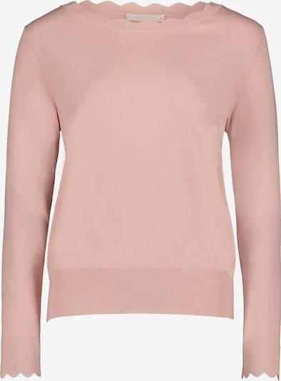 Betty & Co Feinstrickpullover mit U-Boot-Ausschnitt in pink, Produktansicht