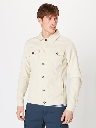 Urban Classics Jacke 'Corduroy' in weiß, Produktansicht