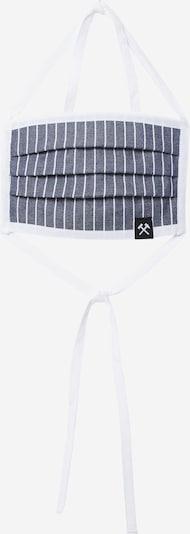 Grubenhelden Stoffmaske in blau / weiß, Produktansicht