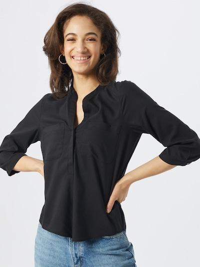 VERO MODA Bluse 'TANYA' in schwarz, Modelansicht