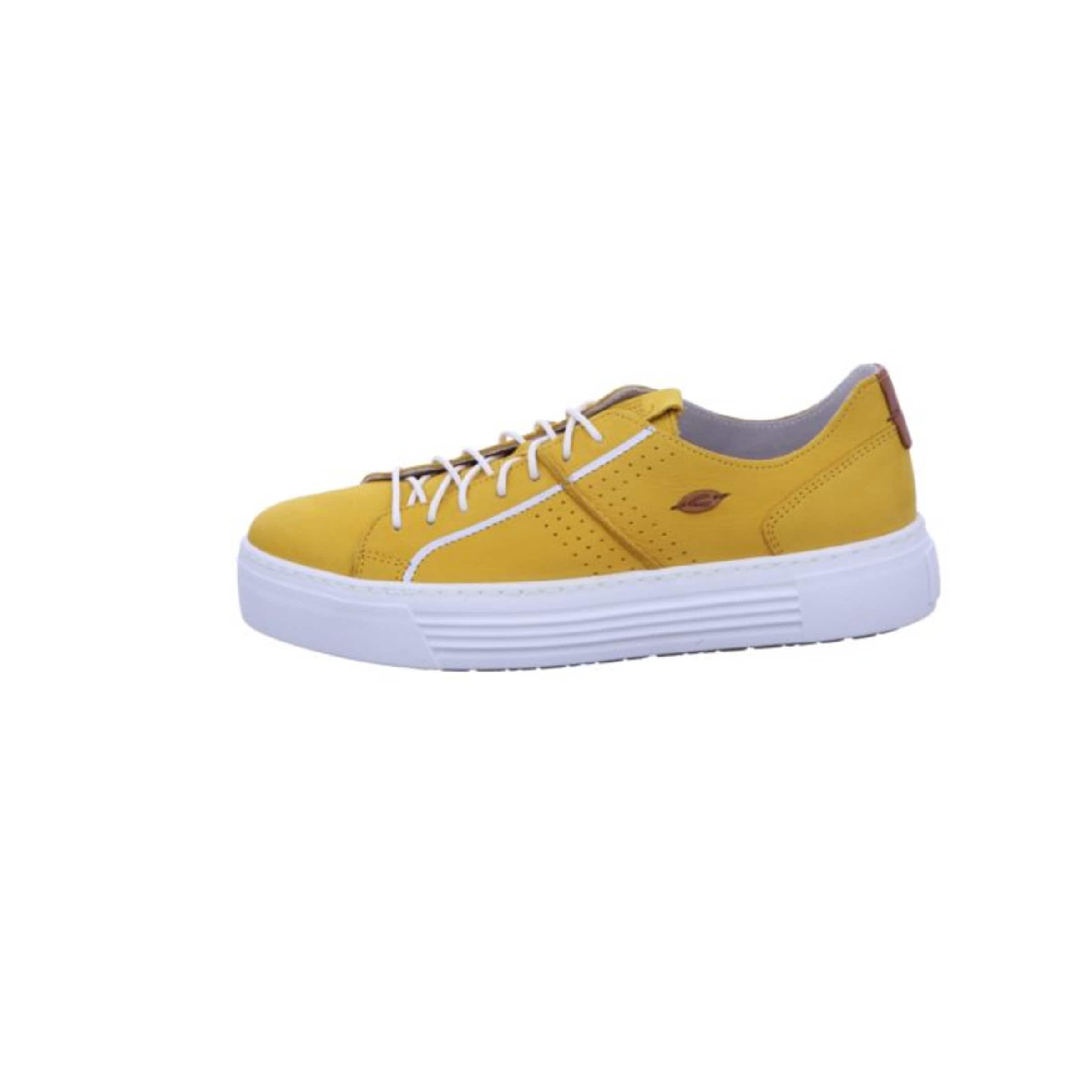 CAMEL ACTIVE Sneakers in gelb