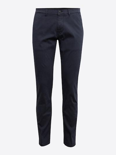 BOSS Pantalon chino en bleu foncé, Vue avec produit