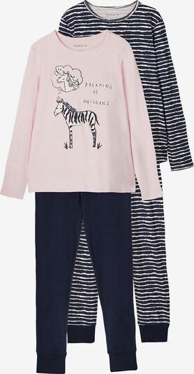 NAME IT Schlafanzug in blau / pink, Produktansicht